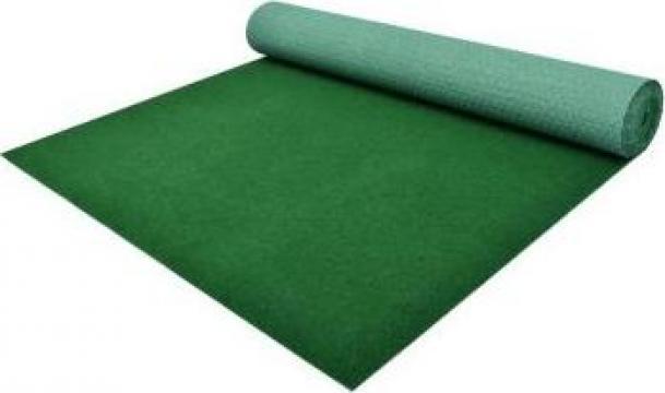 Gazon artificial cu crampoane, verde, 5 x 1,33 m, PP de la Vidaxl