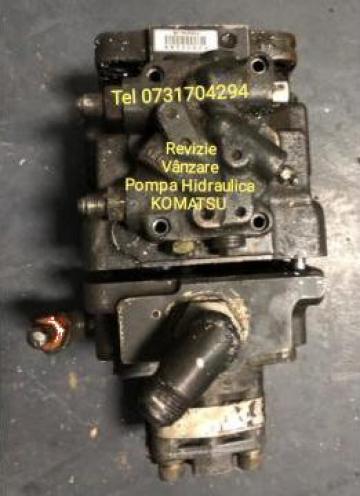 Reparatii pompe Komatsu de la Reparatii Pompe Hidraulice SRL