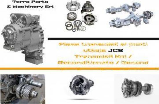 Reparatii cutii viteza Buldoexcavator JCB