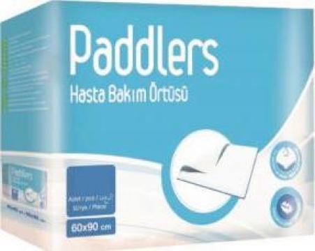 Aleze, protectii pentru pat Paddlers, 90cm x 60 cm, 120 buc