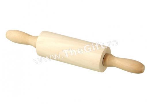 Mini sucitor rotativ, din lemn