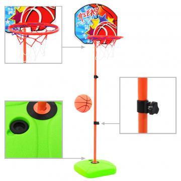 Set cu minge si cos de baschet pentru copii de la Comfy Store