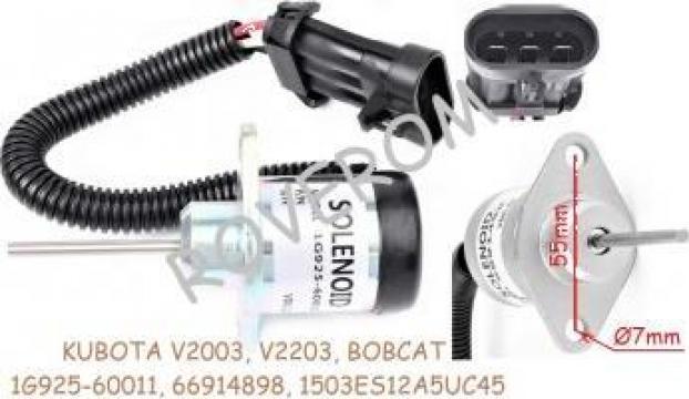 Solenoid 12V Kubota V1505, V2003, V2203, V2403, Bobcat