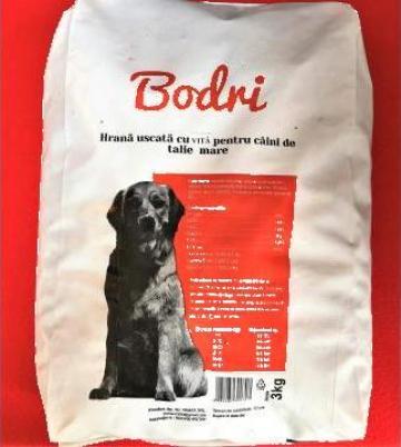 Hrana uscata pentru caini Bodri 3 kg