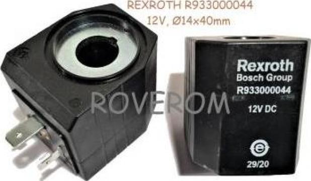 Bobina 12V, d14x40mm, 26W, electrovalva hidraulica de la Roverom Srl