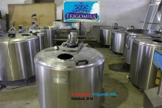 Tanc racire lapte 300 - 1250 l, 220V