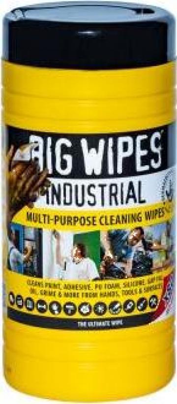 Servetele umede industriale Big Wipes de la Feyro Coatings Srl