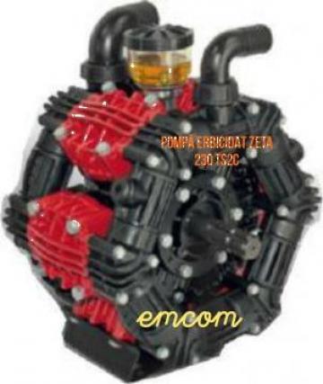 Pompa masina erbicidat Zeta 230 TS 2C de la Emcom Invest Serv Srl
