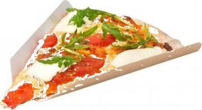 Coltar carton felie pizza 32cm 250 buc/set de la Cristian Food Industry Srl.