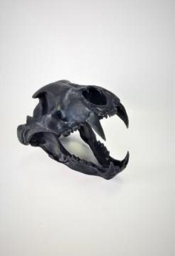 Decoratiune Craniu leopard sau leu printat 3D