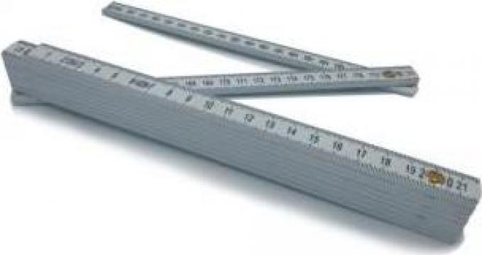 Metru pliant impermeabil 2 m de la Maer Tools