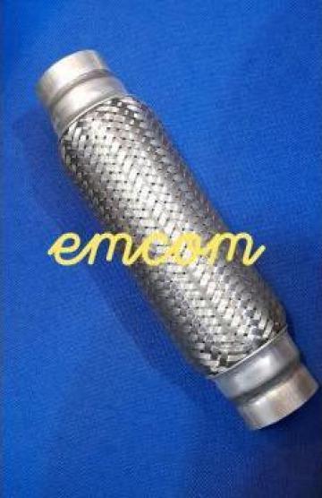 Racord esapament flexibil 60x100 mm de la Emcom Invest Serv Srl