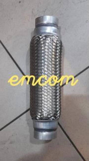 Racord esapament flexibil 60x300 mm de la Emcom Invest Serv Srl