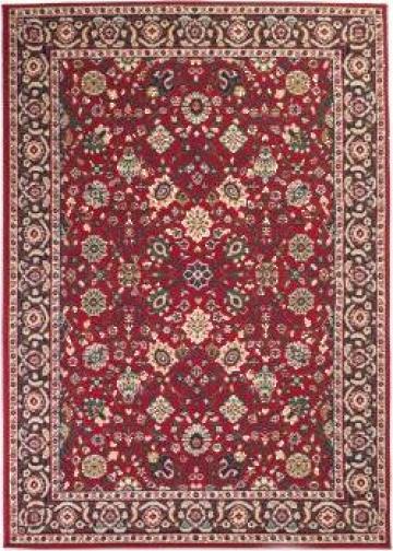 Covor oriental, rosu/bej, 140 x 200 cm de la Vidaxl