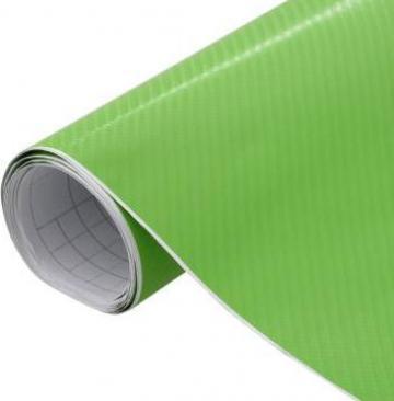 Folie auto 4D verde 200 x 152 cm