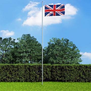 Steag Marea Britanie, 90 x 150 cm de la Vidaxl