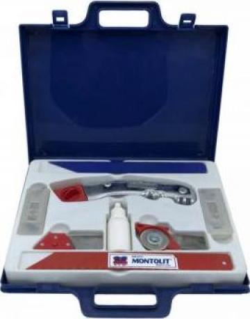 Kit universal pentru montaj 9 bucati Montolit de la Maer Tools