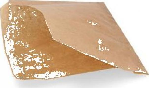 Coltar din hartie kraft natur 15x15cm, 5000 buc/bax de la Cristian Food Industry Srl.