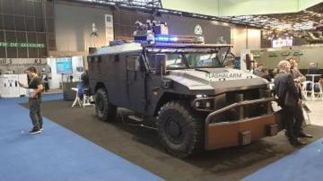 Autospeciala politie Arqus DFX de la Flashalarm Electric