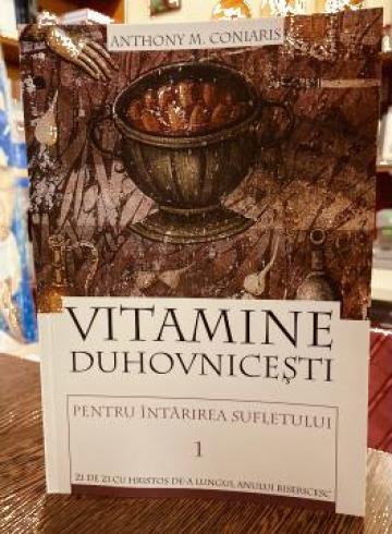 Carte Vitamine Duhovnicesti pentru intarirea sufletului de la Candela Criscom Srl.