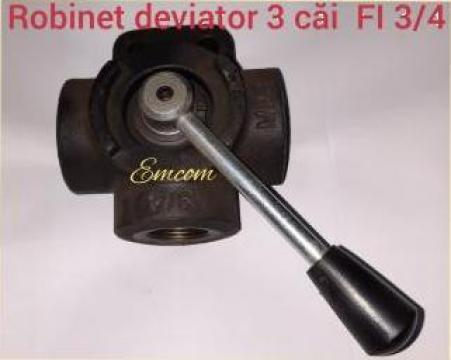 Deviator hidraulic 3 cai 3/4 de la Emcom Invest Serv Srl