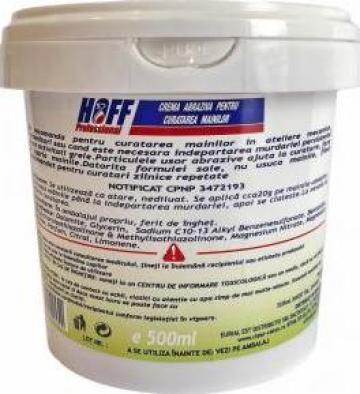 Crema abraziva de maini pentru pete grele, 1L/1.4 kg