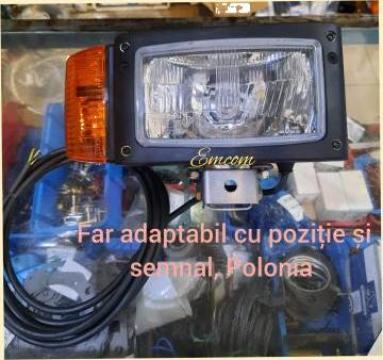 Far tractor drept 3 fct Zetor 12v-24v de la Emcom Invest Serv Srl