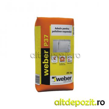Adeziv polistiren Weber P37 de la Altdepozit Srl