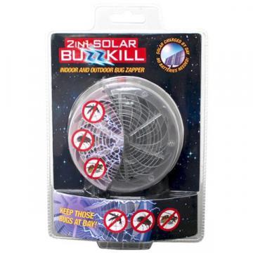 Aparat cu ultraviolete pentru insecte 2 in 1 solar Buzzkill