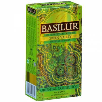 Ceai verde Ceylon Green Valley Oriental Collection Basilur de la KraftAdvertising Srl