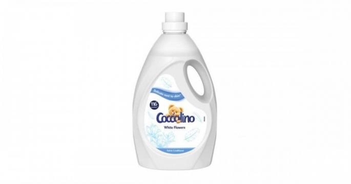 Balsam de rufe Coccolino Floari albe 116 spalari 2900ml de la Pepita.ro