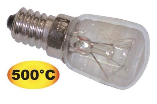 Bec cu incandescenta 500C E14 230V 25W de la Kalva Solutions Srl