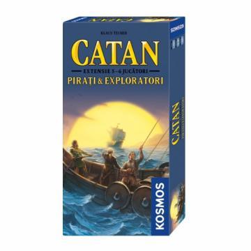 Joc Catan extensie Pirati Exploratori 5-6 jucatori de la Chess Events Srl