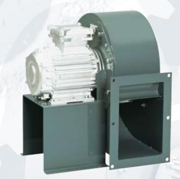 Ventilator centrifugal 400 grd CHMT/4- 280/115-2,2 de la Ventdepot Srl