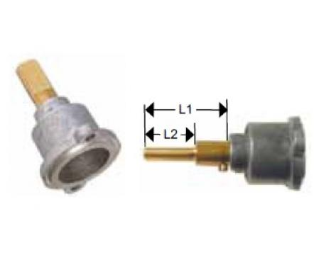 Cap robinet gaz PEL 23, lungime ax 35/19mm de la Kalva Solutions Srl