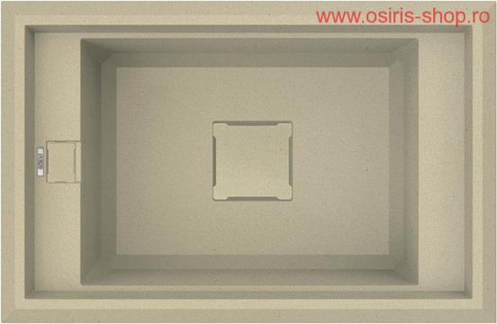 Chiuveta granit Value 130 de la Osiris Design Construct