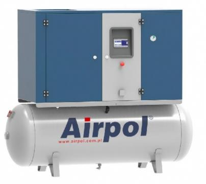 Compresor cu surub si uscator Airpol KT7 de la Tehnic Depo Srl