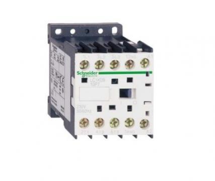 Contactor 4kW, 230V 50/60Hz, 1NO de la Kalva Solutions Srl