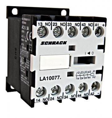 Contactor auxiliar miniatura 4NO/230V