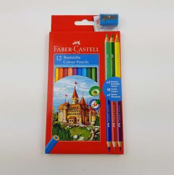 Creioane colorate 15 bucati Faber-Castell