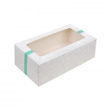 Cutie pentru prajituri cu fereastra din carton de la GM Proffequip Srl