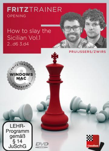 DVD : How to slay the Sicilian Vol. 1 - 2...d6 3.d4 - Pruij de la Chess Events Srl