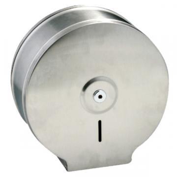 Dispenser inox oglinda, pentru hartie igienica Jumbo
