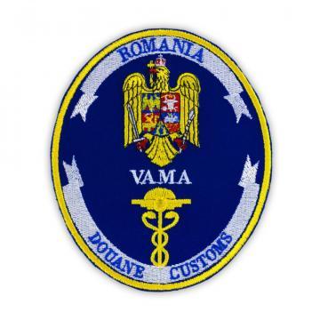 Emblema vama - ecuson maneca vama de la Hyperion Trade