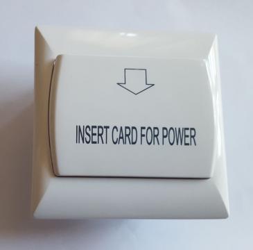Economizor electricitate cu card Temic sau EM4100 de la Lax Tek
