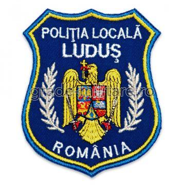 Emblema brodata Politia Locala 2 personalizabila de la Hyperion Trade