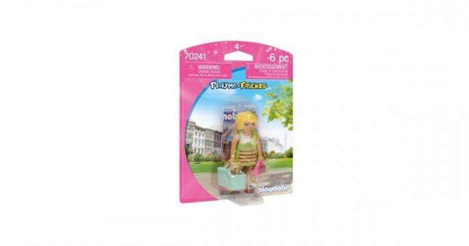 Figurina jucarie Fata trendy Playmobil 70241
