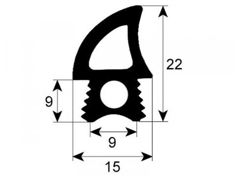 Garnitura usa profil 2767