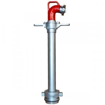 Hidrant portativ DN 100, iesire 1xB, cu racord fix