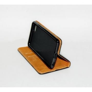 Husa flip Diary Flexy piele naturala neagra pentru Iphone XR de la Color Data Srl